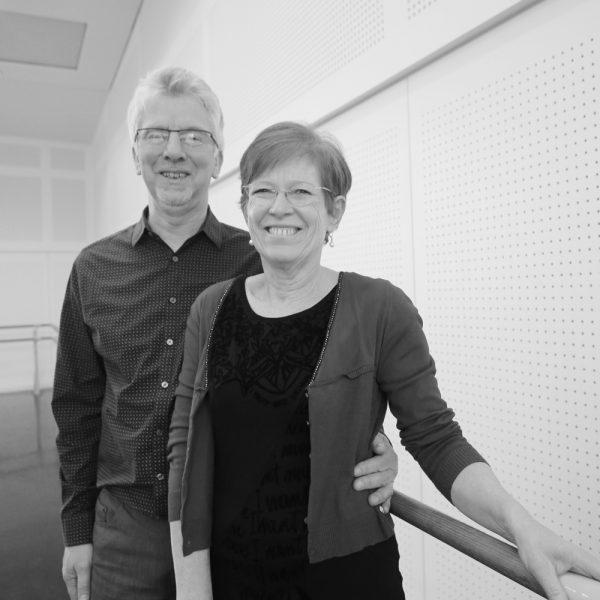 Photo de Bernard Burgwald et Michèle Baehr