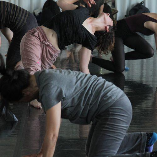 des corps qui danse l'improvisation